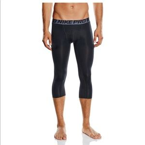 Nike Pro Cool 3/4 Compression Tights Training XL